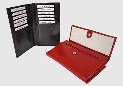portfel skórzany damski TSHC 3255 <br/> wymiary 15 x 10 cm