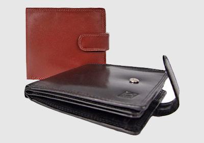 portfel skórzany męski TSHC 3346/04/036<br/>  wymiary 12 x 10 cm