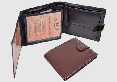 portfel skórzany męski TSHC 3497  <br/>wymiary 12,5 x 10 cm