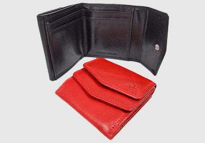 portfel skórzany damski TSHC 3838/hlw35  <br/>wymiary 9,5 x 9,5 cm