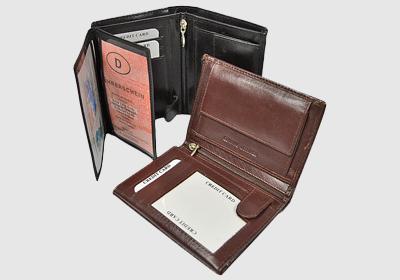 portfel skórzany męski TSHC 3991-sn4 <br/> wymiary 12,5 x 9 cm