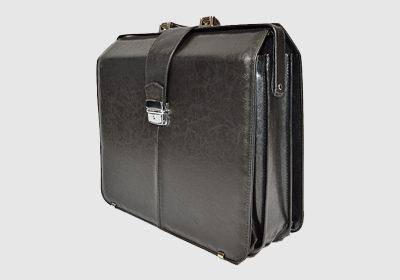 teczka skórzana, kufer TS5L <br/> wymiary 41,5 x 36 x 18 cm