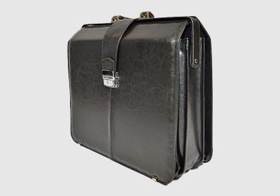 teczka skórzana, kufer TS5L:  41,5 x 36 x 18 cm